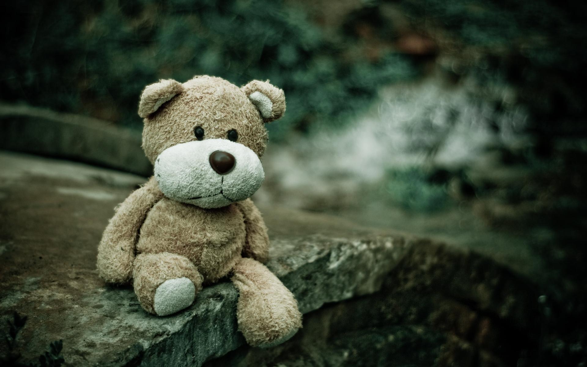Illustrasjonsbilde av trist teddybjørn