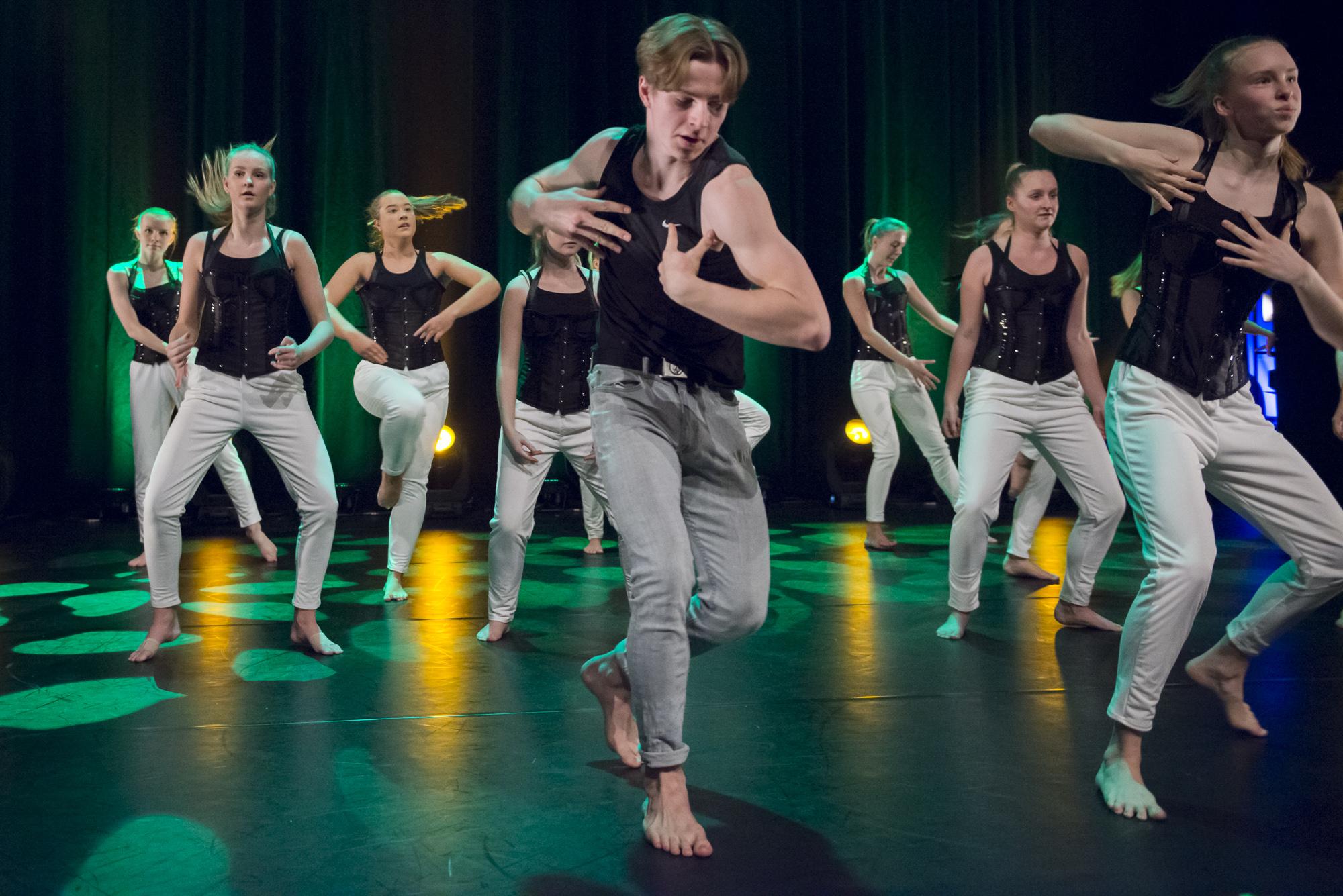 Dansesonens talentforestilling: Dance Moves 2019.
