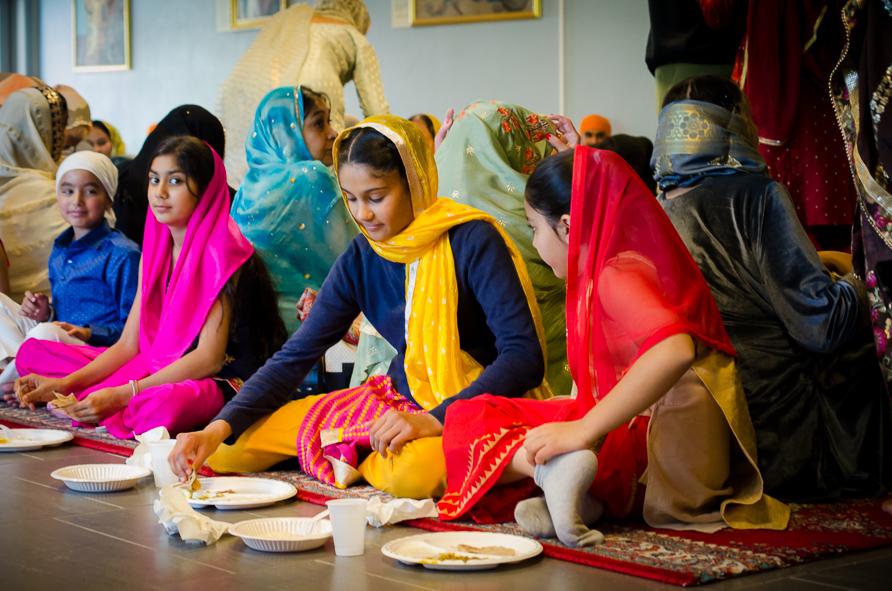 Sikh-måltid