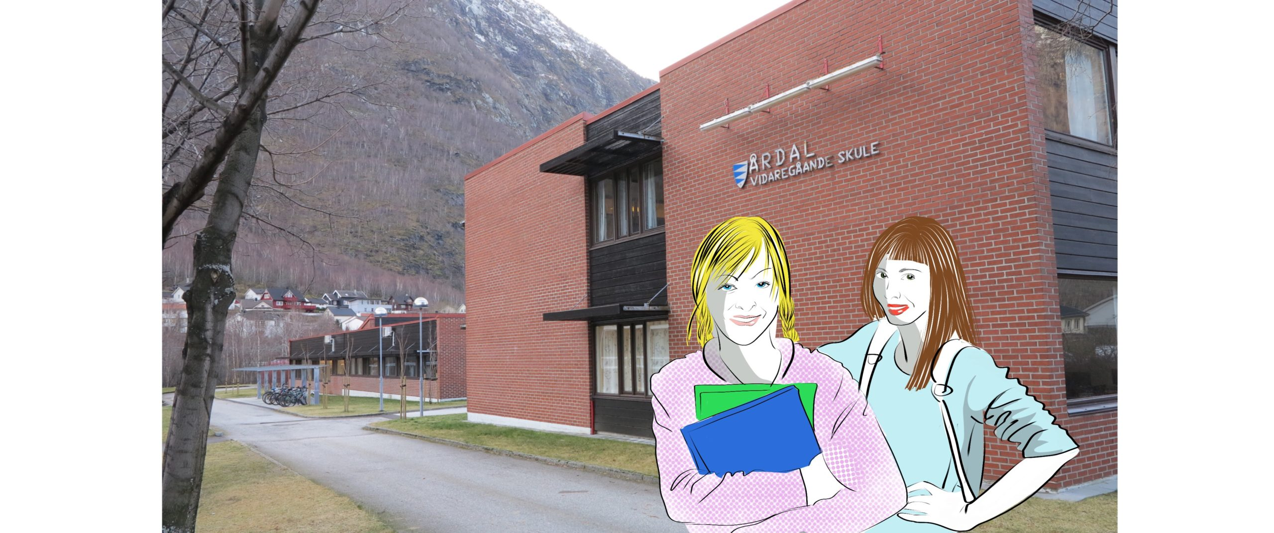 """Serien """"Sogningen i Vestland"""" er prega av mange illustrasjonar, som Oddrun har laga."""