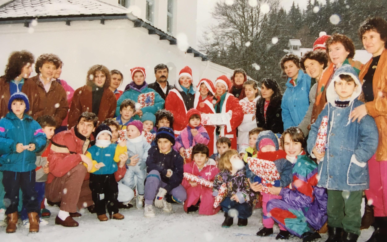 Tidleg på 1990-talet førte krigen i Jugoslavia over 320 menneske til Harastølen. Det vart rekna som galskap å presse så mange traumatiske menneske saman - isolert frå storsamfunnet. Foto: Oddrun Midtbø