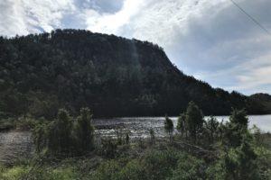 Børshovda, fjellet som var ei bygdeborg i folkevandringstida,