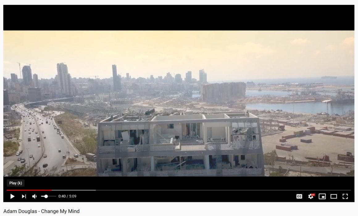 Videohyllest fra Beirut