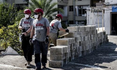 Team Rubicon Norge består av 25 % sivile og 75 % frivillige veteraner som hjelper til med rydding mm etter katastrofer. I Libanon har Team Rubicon Norge jobbet sammen med den lokale frivillige organisasjonen DSC, blant annet i Karantina, en fattig bydel i Beirut. Karantina ligger svært nært Ground Zero, og har mottatt svært lite hjelp fra myndighetene etter eksplosjonen.