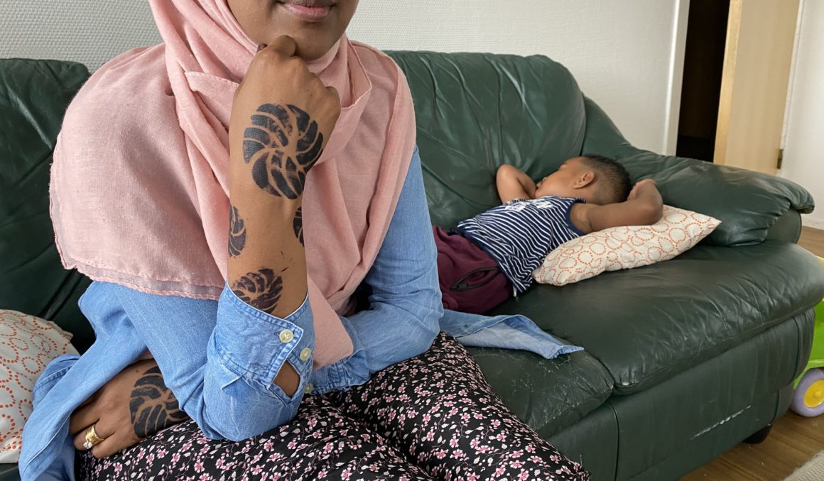 Norske barn fastlåst på asylmottak